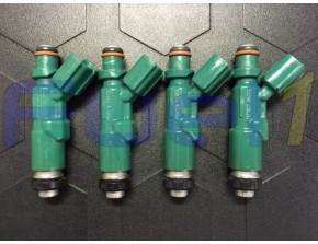 23250-21020 - 01-09' Toyota Echo Prius Scion XB 1.5L Denso Set of 4 Injectors