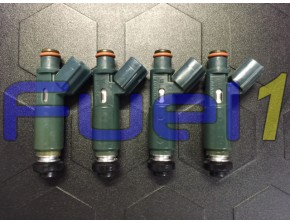 23250-22010 - 98-99' Toyota Corolla Geo Prizm 1.8L Set of 4 Injectors