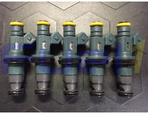 9445156 - 99-00' Volvo 2.4L S70 V70 Non Turbo OEM Denso Set of 5 Injectors