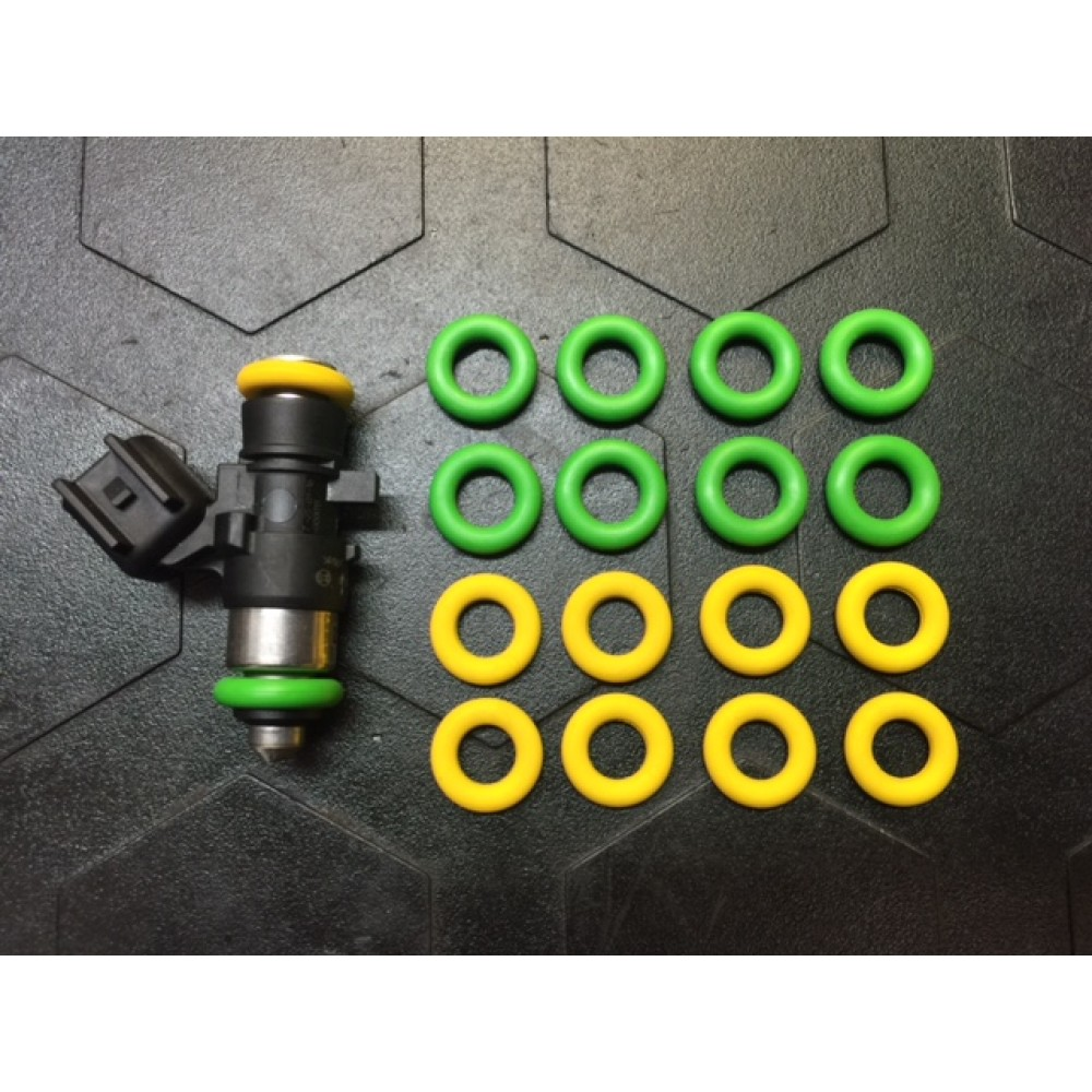 Viton O-Rings Bosch EV14 Style for LS3 Multi Fuel for Injector Dynamics FIC Deatsch Werks 8 Injector Kit