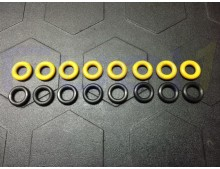 Viton O-Rings Bosch EV14 Style Multi Fuel for Injector Dynamics FIC Deatsch Werks 8 Injector Kit